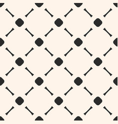 geometric seamless texture with circles and lines vector image vector image