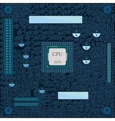 Motherboard cpu vector