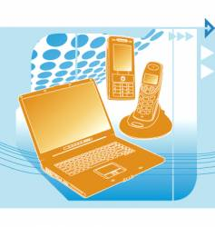 Communication technology vector