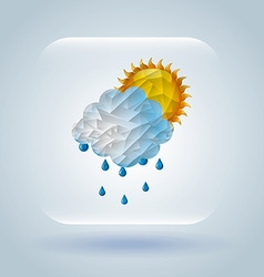 Weather symbol vector