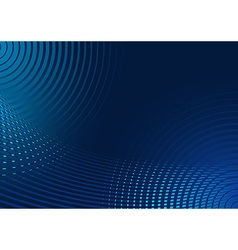 Abstract Blue Striped Background vector image vector image