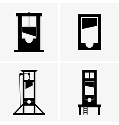 Guillotines vector