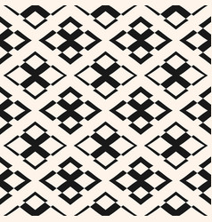 ornament seamless pattern geometric texture vector image
