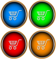 Set from four icons a buy vector image