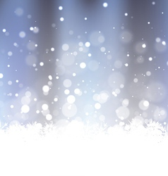 Sparkling frosty background vector