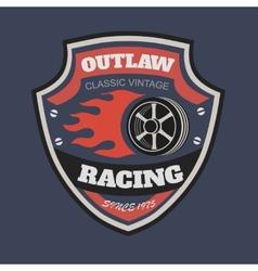 Sport racing typography t-shirt graphics vector