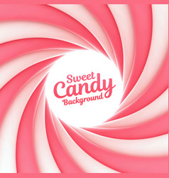 sweet candy background with place for your content vector image