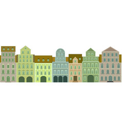 Tenements vector