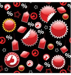 sale seamless vector image