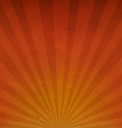 Orange vintage sunburst cardboard paper vector