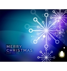 Christmas blue abstract background with white vector