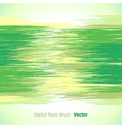 Digital paint background green vector