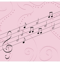 Music pattern delicate color pattern texture vector