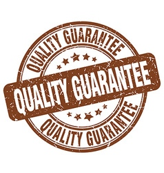 Quality guarantee stamp vector
