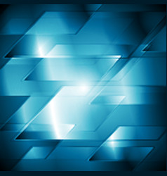 Dark hi-tech background vector image vector image