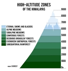 With high-altitude zones of vector