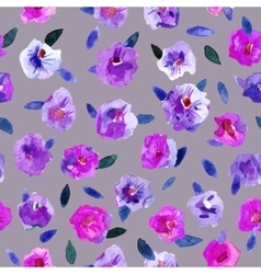 Seamless pattern with beautiful hand paint vector