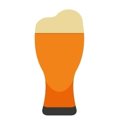 Beer glass isolated icon design vector