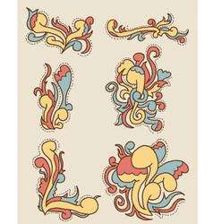 Doodle pattern 2 vector