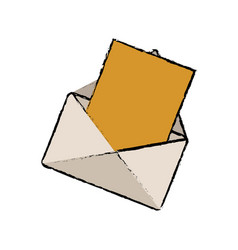 Email paper message communication web vector