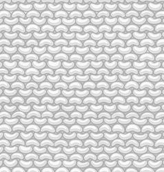 Garter stitch seamless pattern vector