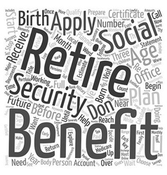How should you prepare for retirement text vector