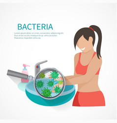 Hygiene Concept Flat vector image