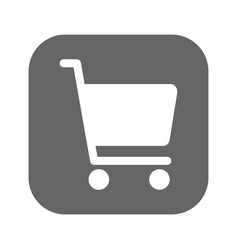 shopping chart icon best flat icon vector image vector image
