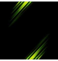 Abstract dark green stripes background vector