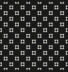 geometric seamless pattern with squares vector image vector image