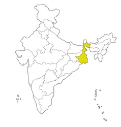 West bengal vector