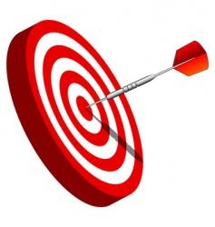 bullseye vector image