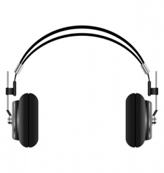 Headphones set vector