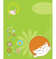Cartoon cover vector