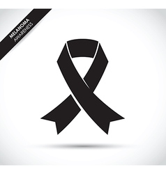 Melanoma cancer awareness vector