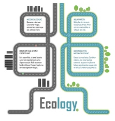 Ecology elements vector