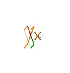 Minimal x font or letter logo design vector