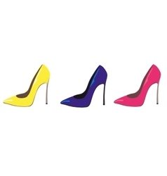 Stiletto shoes vector