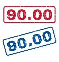9000 Rubber Stamps vector image vector image