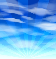 Blue sky background 2 vector