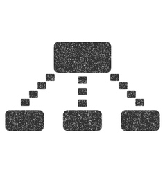 Dotted Scheme Grainy Texture Icon vector image vector image