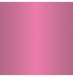 Dotted pink pattern vector