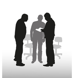 Business discussion vector
