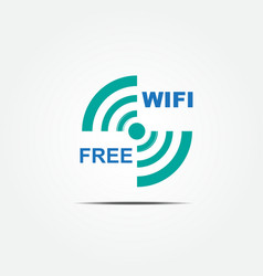Free wifi icon1 vector