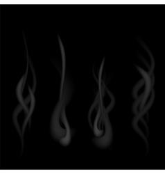 Grey Smoke vector image