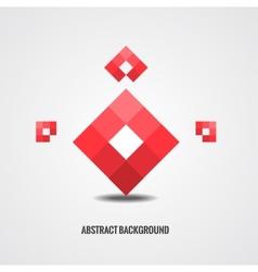 Ruby stylized background vector image