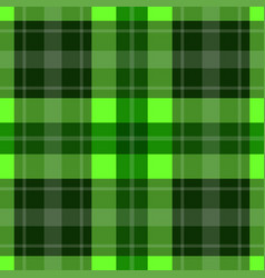 Seamless green tartan - white stripes vector