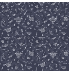 Seamless pattern - my kitchen 5 vector