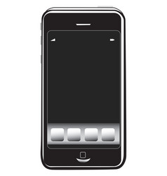 Type of mobile phone vector