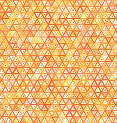 Abstract ornate triangles seamless pattern vector